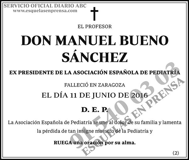 Manuel Bueno Sánchez